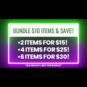 Tops - *BUNDLE $10 ITEMS AND SAVE!!*